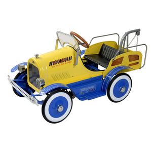 Deluxe Tow Truck Pedal Car
