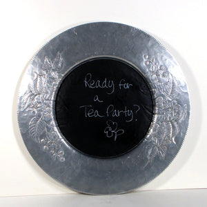 Repurposed Chalkboard Tray II