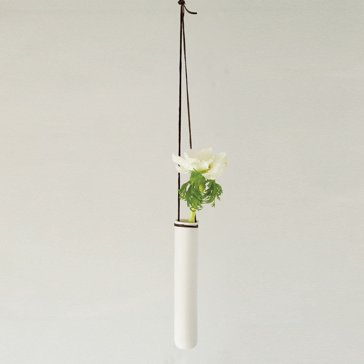 Hanging Test Tube Vase Chocolate