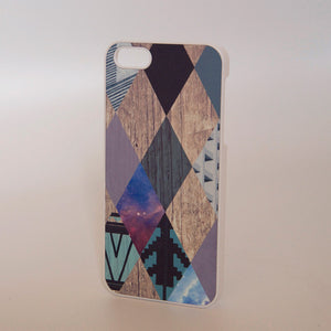 iPhone 5 Case Argyle Multi