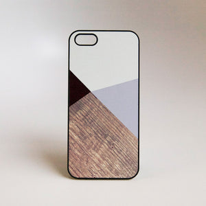 iPhone 5 Case Geometric Gray