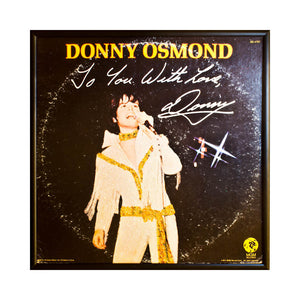Donny Osmond To You With Love
