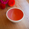 Porcelain Bowl Terra Red