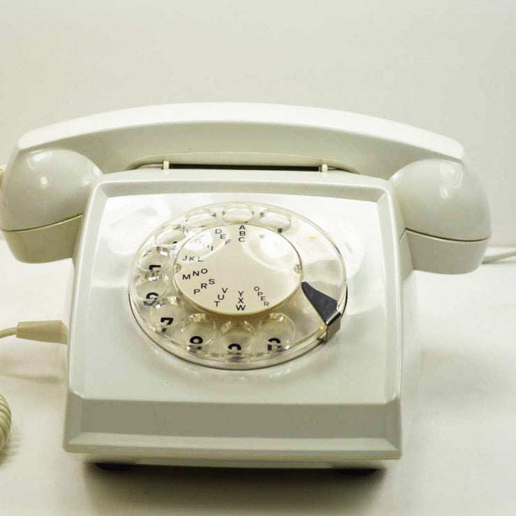 1980s Rotary Dial