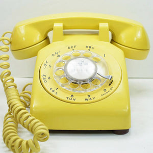 Yellow 500 Rotary Dial