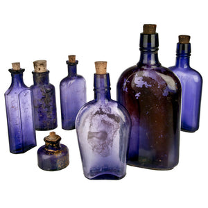 Ground-Dug Bottles Set Of 7 III