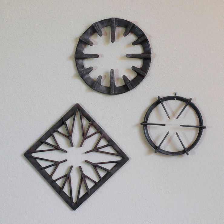 Cast Iron Stove Ring Wall Art II