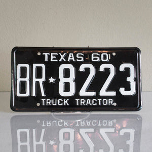 '60 Texas Truck Tractor Plate