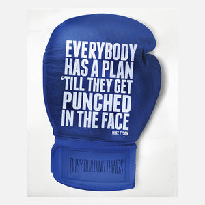 A Plan Clingprint Blue