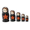 Nesting Doll Red Star 5Pc
