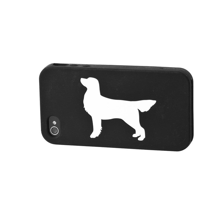 Golden Retriever iPhone Case Blk