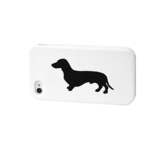 Dachshund iPhone Case White