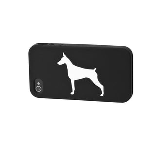 Doberman iPhone Case Black