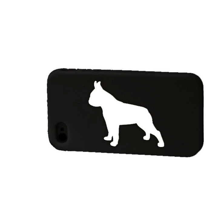 Boston Terrier iPhone Case Blk