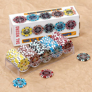 5-Color Chip Set 100 Pieces VI