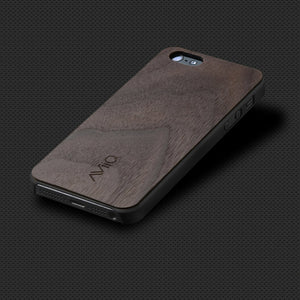 iPhone 5 Wood Thin Case Black