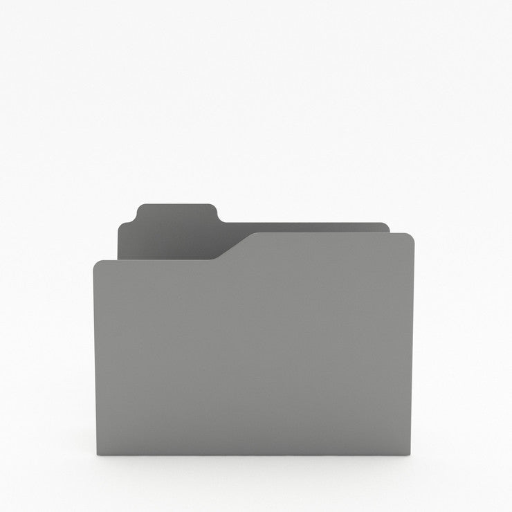Folder Magazine Rack Gray