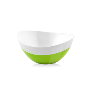 Livio Oval Bowl Sm Green 2Pc Set