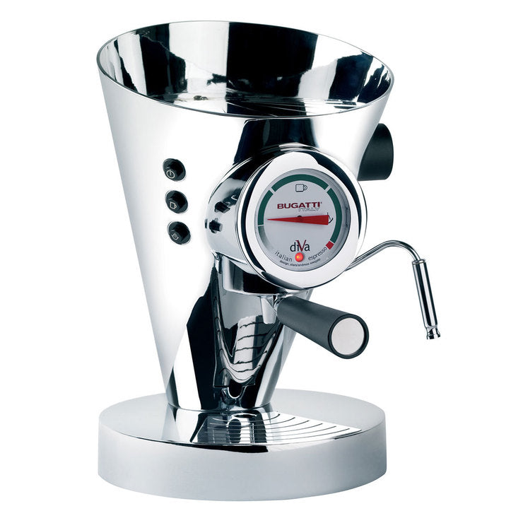 Diva Espresso Machine Chrome