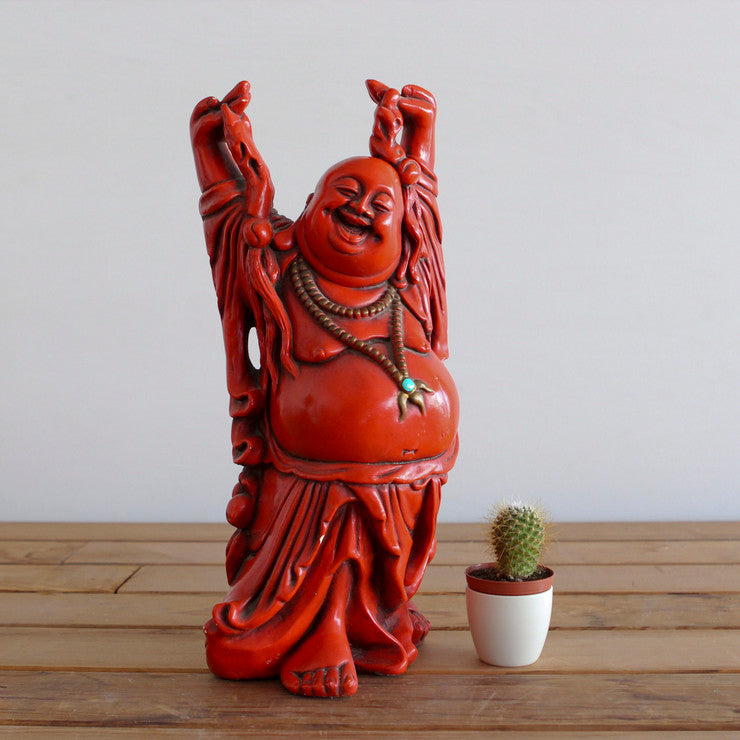 Happy Laughing Buddha Red