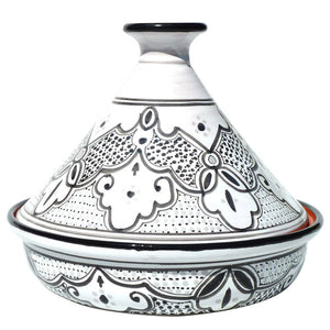 Cookable Tagine Black And White