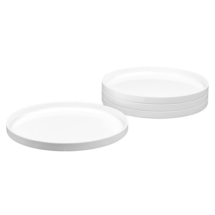 Dinner Plate White Set of 4