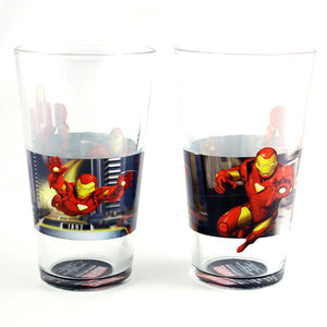Iron Man Segments Pint Glass 2Pc