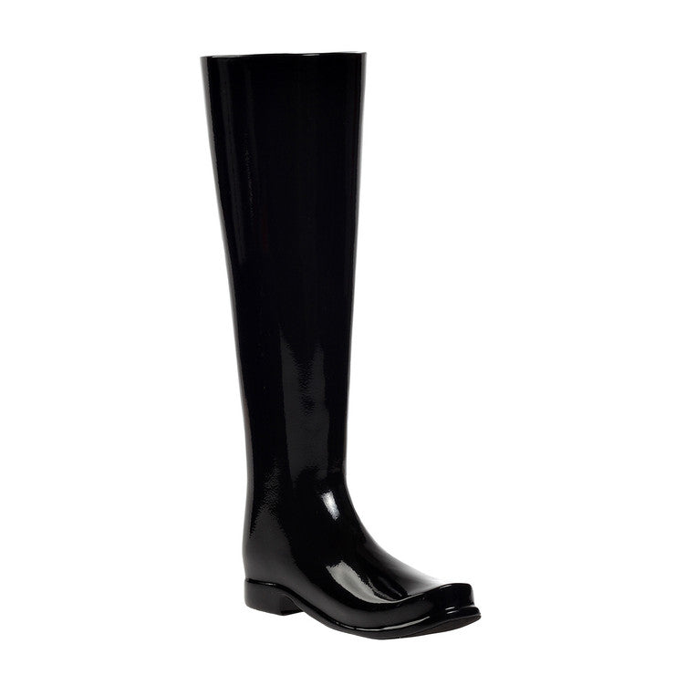 Boot Umbrella Stand Black