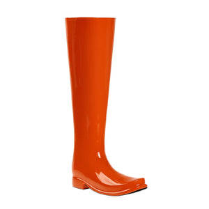 Boot Umbrella Stand Orange