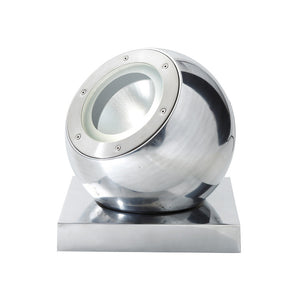 Beluga Outdoor Light Chrome