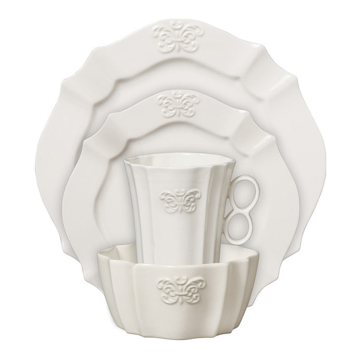 Belle Blanc Place Setting 4Pc