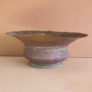 French Metal Bowl