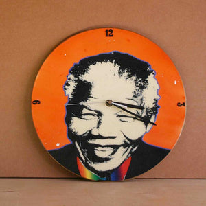 Mandela LP Clock