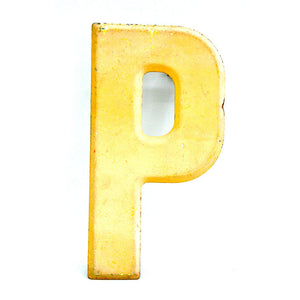 Marquee Letter Pale P