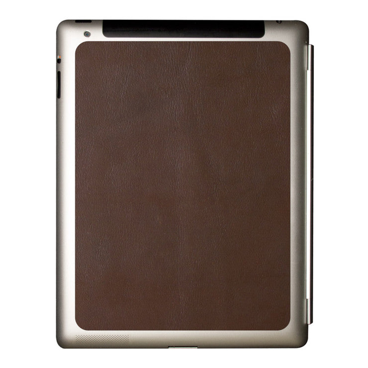 iPad 2 Brown Leather Partial