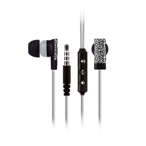 Earbuds With Mic Leopard