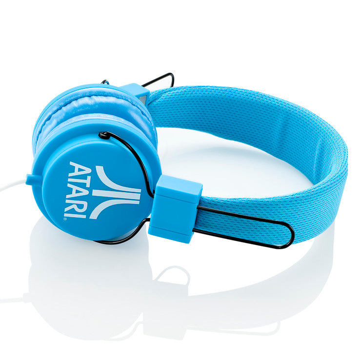 Atari On Ear Headphone Blue
