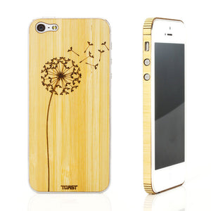 iPhone 5 Dandelion Bamboo Set