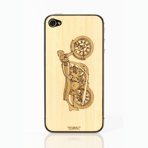 iPhone 4/4S Motorcycle Bamboo