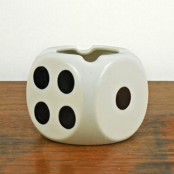 Ceramic Die Ashtray