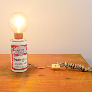 Budweiser Can Lamp