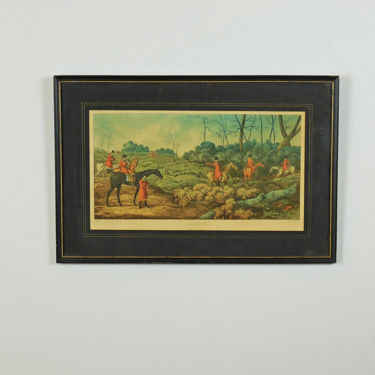 Hand-Colored Engraving