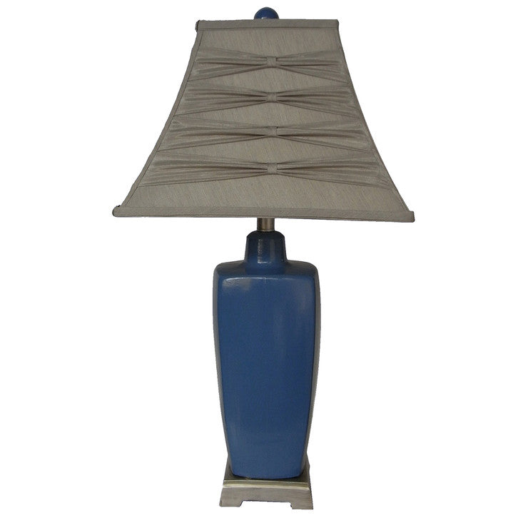 Ceramic Lamp 29\ Blue""