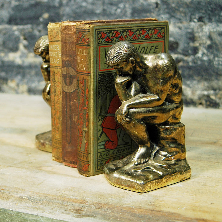 Thinker Bookends