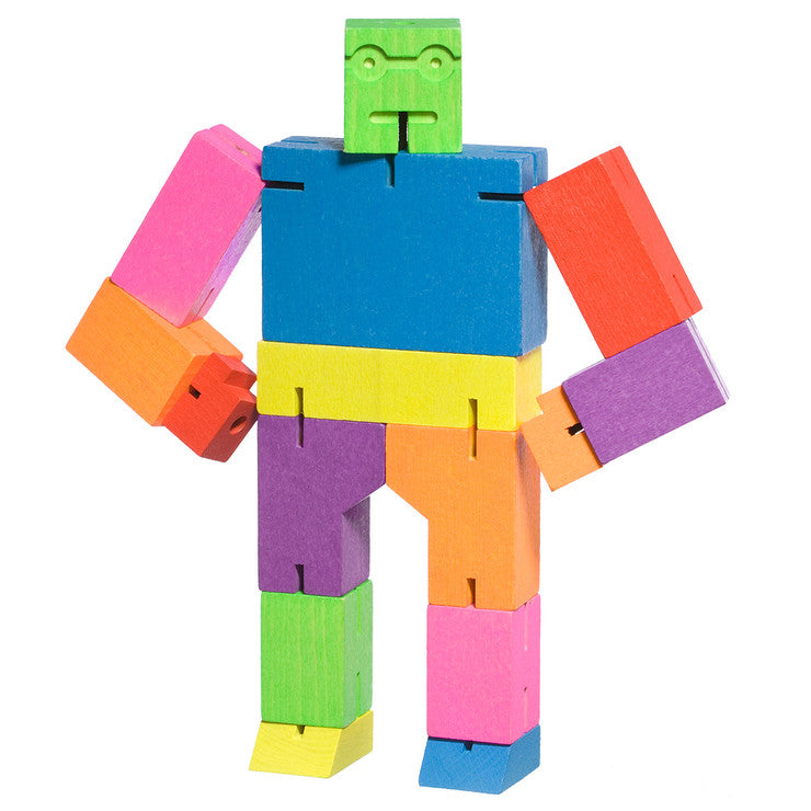 Areaware Cubebot Medium Multi