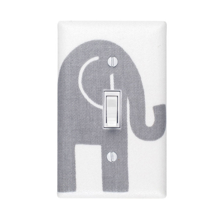 Large Elephant Switch Plate