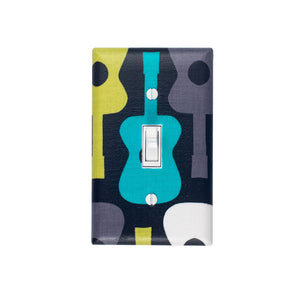 Groovy Guitar Switch Plate