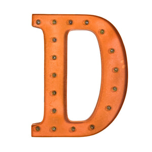 Marquee Light D Orange