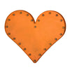 Marquee Light Heart Orange