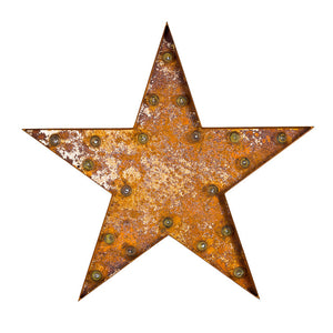 Marquee Light Star Rust